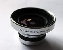37mm 0.25x Wide Fisheye Fish Eye with 12.5x Macro Angle lens 37 0.25 Silver(China (Mainland))