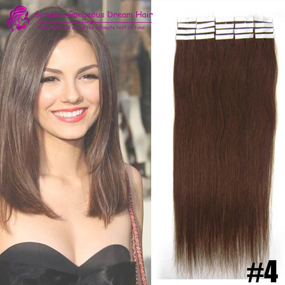 20pc or 40pc indian remy tape hair extensions skin pu tape hair extensions pu hair weave<br><br>Aliexpress