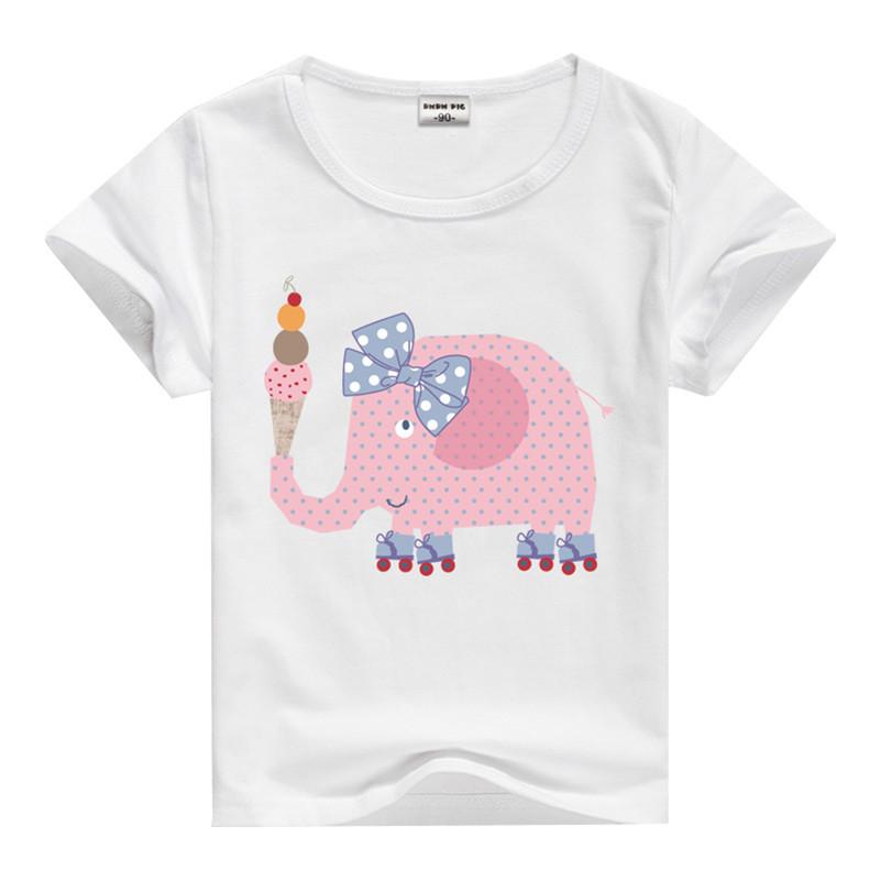 3 7 years baby girl shirt girls t shirt kids tees child for Newborn girl t shirts