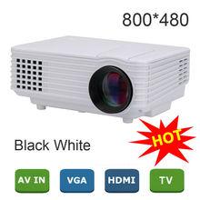 2015 New EC77 Pico Mini LED Projector digital Full HD 1080P Portable LCD video proyector VGA HDMI TV Home Theater(China (Mainland))