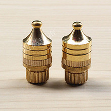 M8 exquisite copper gold plated spikes hi fi stereo - shock foot nails quality speaker stand Audio Accessories store
