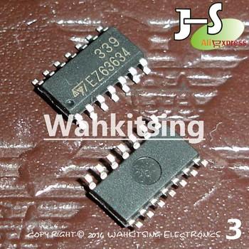100 PCS LM339DT ST SOP-14 LM339 339 Single Supply Quad Comparators