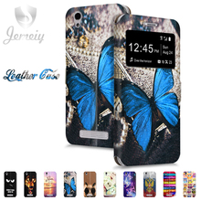 ZTE Blade A610 A510 Phone cases Folio Printed Silk Pattern Cover X3 X5 X7 Cases AF3 V7 Lite Case - Shop323360 Store store