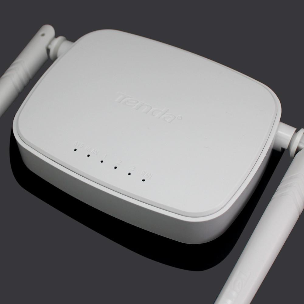 Tenda N301 300mbps Wireless Router White The Best 2018 2 Antenna N Mercado Informtico