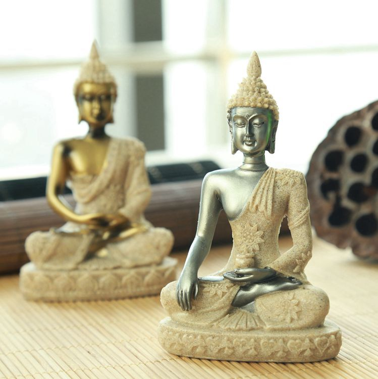 Resin Buddha Statue Decor Home Decoration