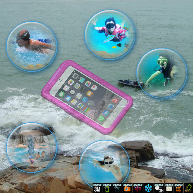 For iPhone 5S Swimming Waterproof Case