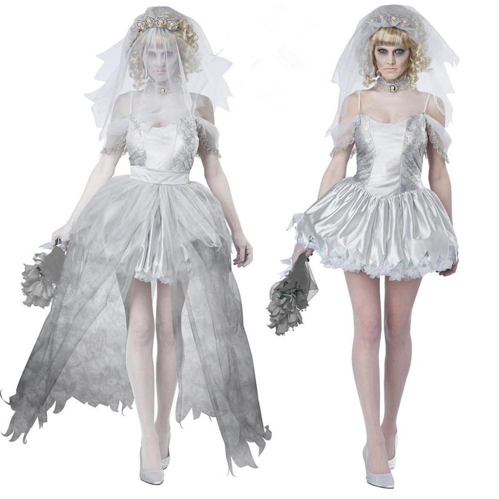 La sposa cadavere abito da sposa