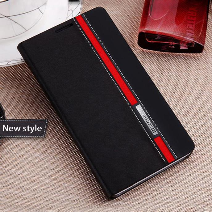 Good taste trends luxury flip leather quality phone back cover cfor Sony Xperia M2 Aqua D2403 D2303 D2305 D2306 S50H case(China (Mainland))