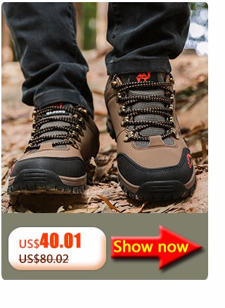 Fashion Climbing Shoes For Men Waterproof In Hiking Shoes Non-Slip Breathable Outdoor Shoes Wear-Resisting Waterproof