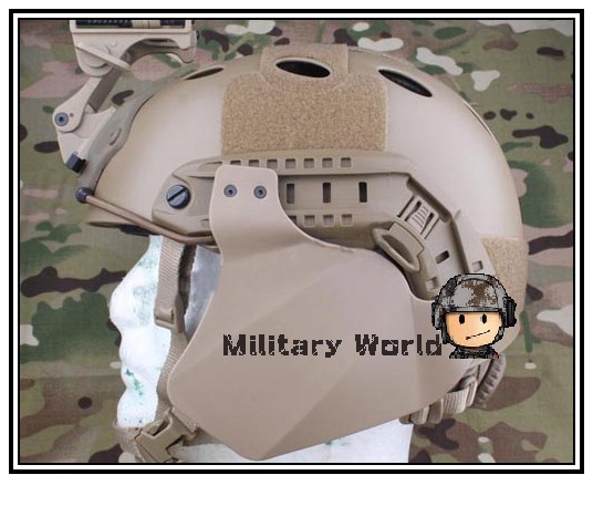 Emerson Airsoft Tactical Military Combat FAST Side Cover for Helmet Rail Compatibility With Fast IBH/Mich 2000/ACH(China (Mainland))