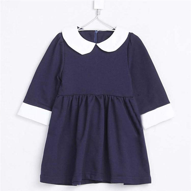 2015 spring princess girls clothing baby child long-sleeve dress clothes A1051(China (Mainland))