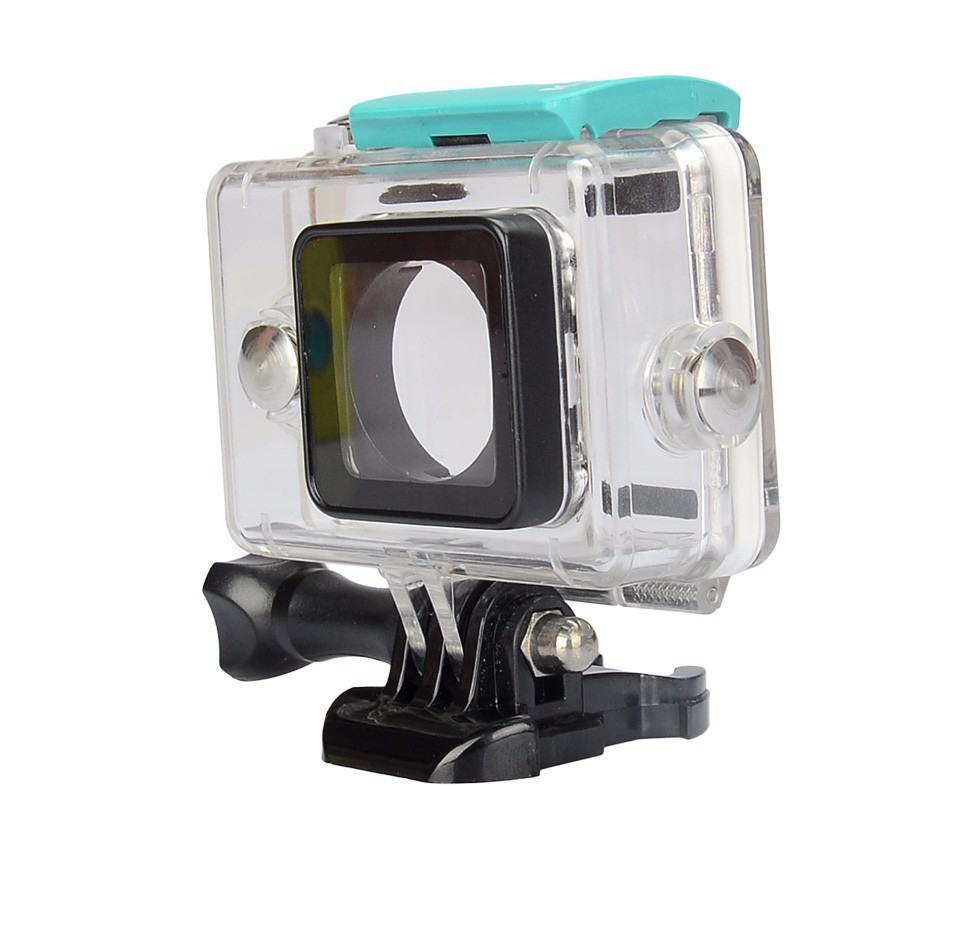 KingMa Original Xiaomi Yi Camera Waterproof Case, Mi Yi 40M Diving Sports Waterproof Box, Yi Action Camera aksesoris Accessories