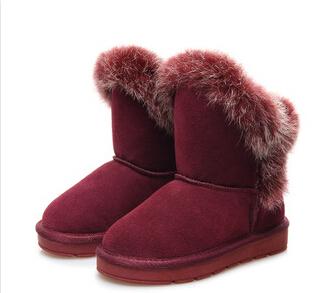 Retail 2014 children winter warm snow boots of high-quality non-slip children shoes girls boys winter boots kids boots girls<br><br>Aliexpress