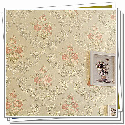 papel de parede sala pastoral Non-woven fabric warpaer wood letters wallpapers pvc DP-1026(China (Mainland))