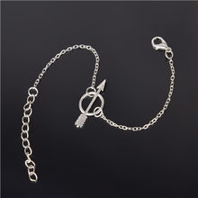 Simple Style Silver Plated Charm Bracelet Jewelry Gift Wedding Banquet Wholesale Top Quality(China)
