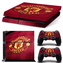 New Arrival Free Shipping Skin for PS4 for Playstation 4 stickers football team manches united vinyl decal