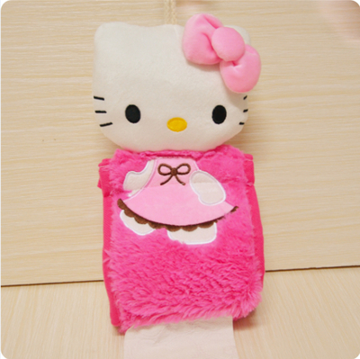 Hello Kitty Tissue Box Hanging Napkin Holder Paper Holder