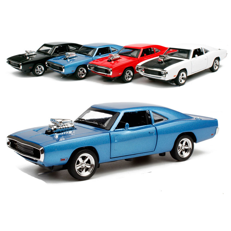The Fast and Furious Dodge Charger Autos Model 1:32 Scale Diecast Metal Alloy Car Kids Simulation Acousto-optic Muscle Car Toys(China (Mainland))