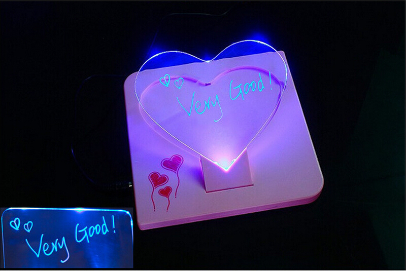 Wholesale heart shaped led bulletin board led electronic for Heart shaped bulletin board