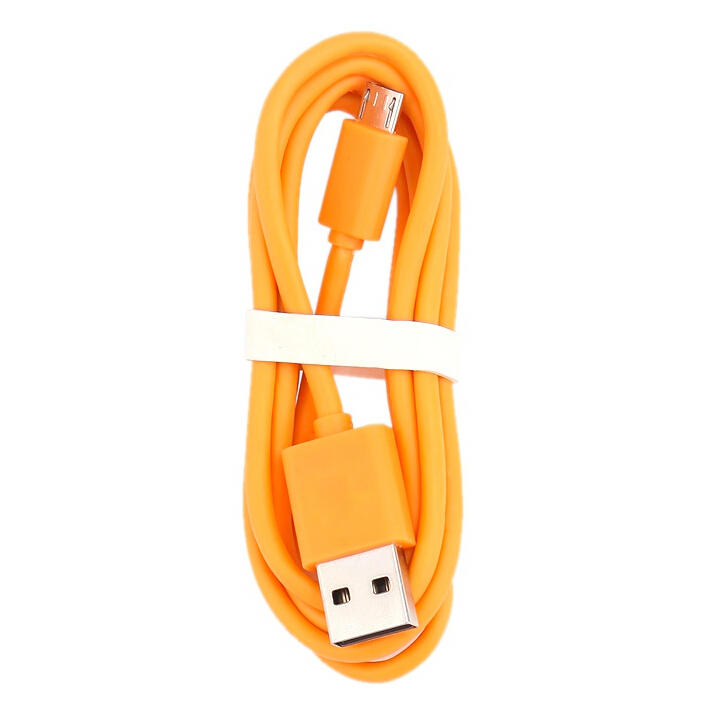 Xiaomi Micro USB Data / Charging Cable - Orange (100cm)(China (Mainland))