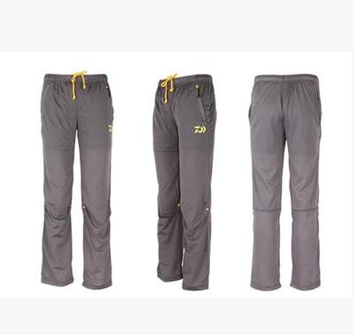 Dawa fishing summer sun breathable quick drying pants men for Lightweight fishing pants