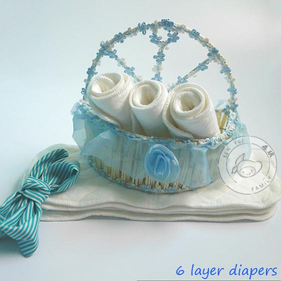 1 pcs High quality Baby Infant Cloth Diaper Cotton Waterproof Reusable Nappy Diaper Training Pants Briefs