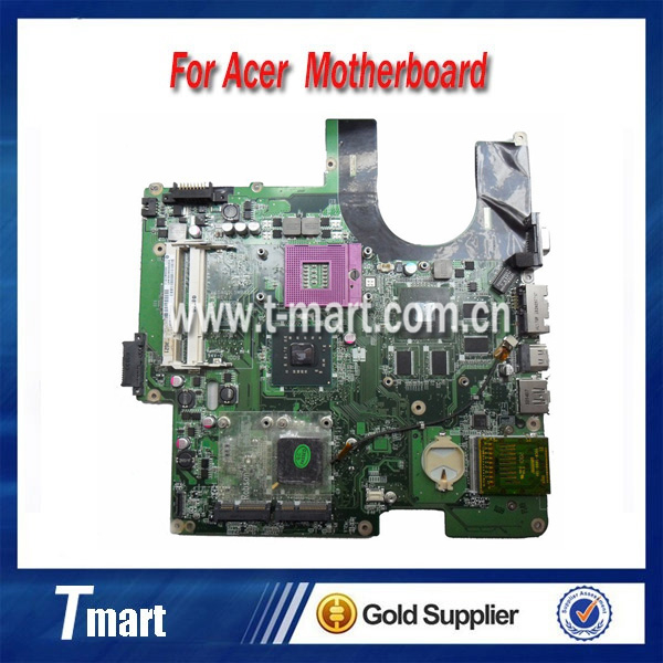 100% working Laptop Motherboard for ACER DA0QL5MB8E0 R510 R580 pm45 System Board fully tested