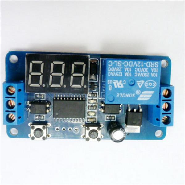 Гаджет  1pc Free Shipping 12V Home Automation Delay Timer Control Switch Module Digital display LED None Электронные компоненты и материалы