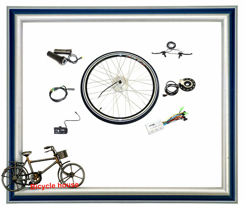 2015 New Arrivals Motor Front Wheel Brushless Non-gear Hub Conversion Kits For Electric Bicycle(China (Mainland))