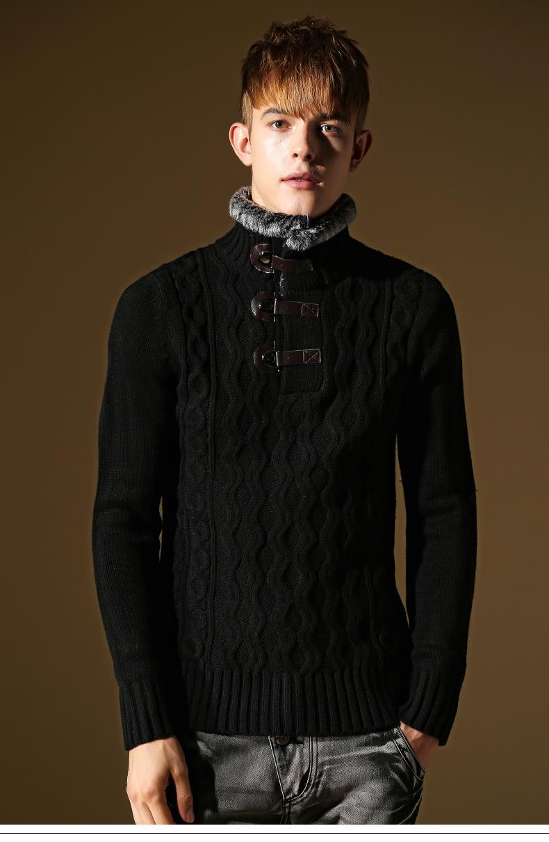 Шерстяной пуловер мужской с доставкой