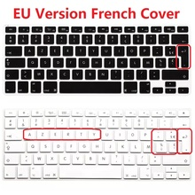 1pcs EU English FR French AZERTY Laptop Keyboard Stickers For Macbook Air Pro Retina 13 15 Silicon Keyboard Skin Cover Protecror