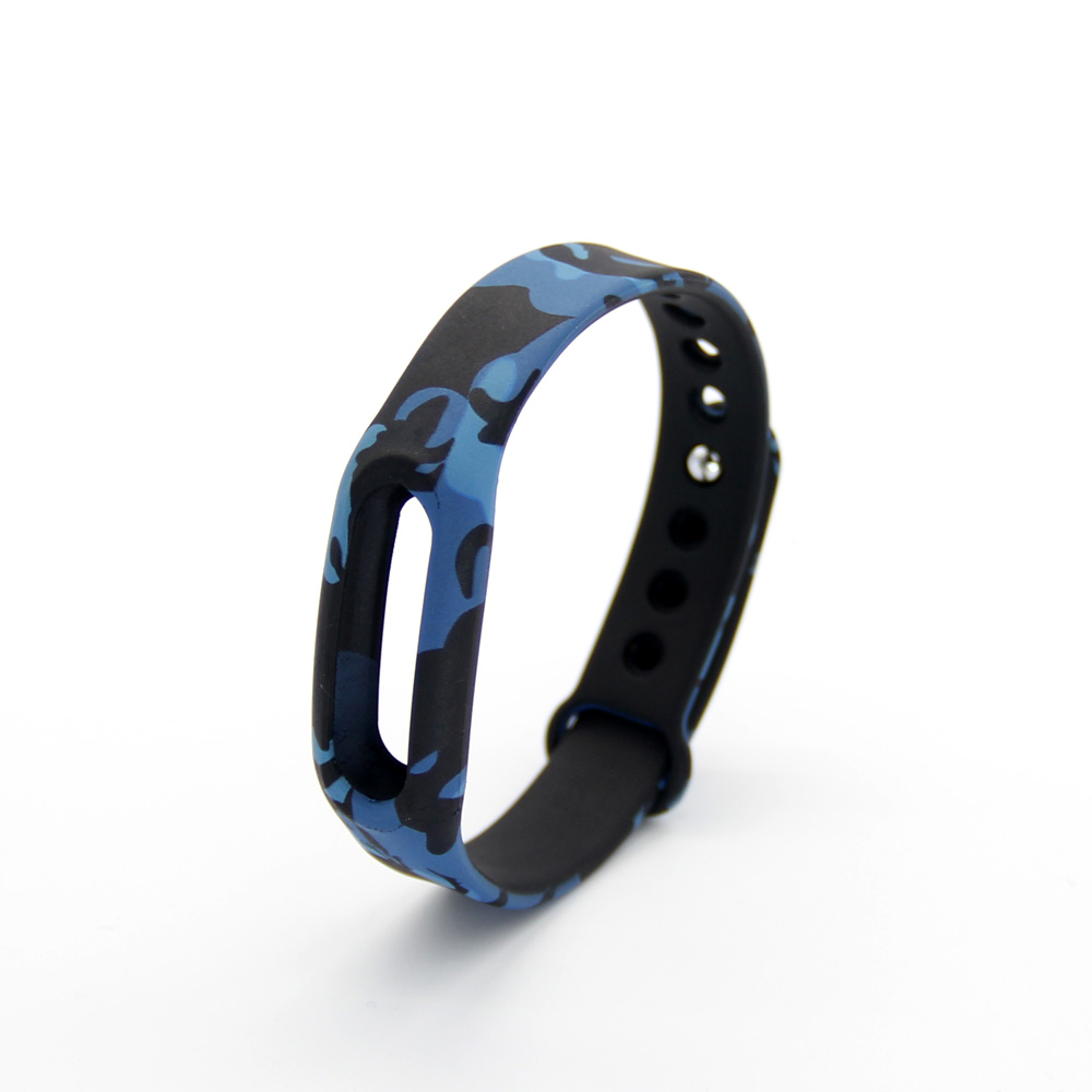Popular Camouflage Silicone Strap For Xiaomi For Miband 1s 1a Smart Wristband Belt Replacement Band Bracelet(China (Mainland))