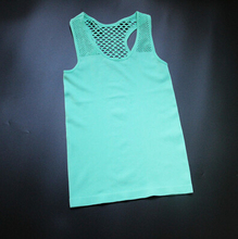 Summer Style Mesh Modal Sexy Women Debardeur Camisa Tank Tops Femme Sport Sleveless T Shirt Fitness Gym Clothes Ropa Mujer(China (Mainland))
