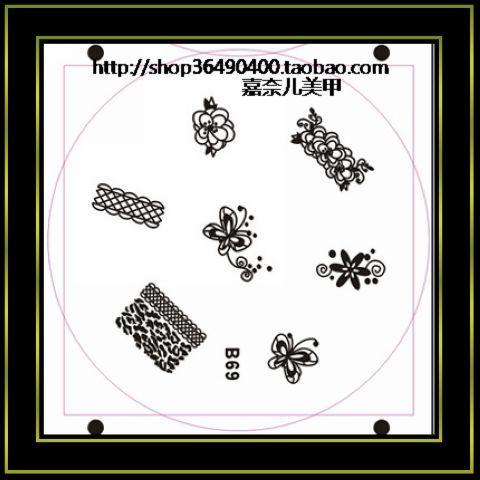 Finger print professional nail art print machine 120 b69(China (Mainland))