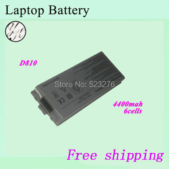 Free shipping 100% New Laptop Battery For DELL Latitude D810 Precision M70(China (Mainland))