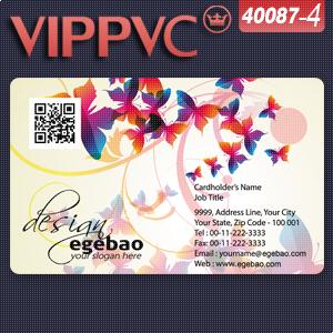 A40087-4 transluc rounded corner-pvc transparente delgado mate tarjetas de visita tarjetas de visita(China (Mainland))