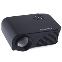 Youkatu S320 Portable LCD Projector 1800 Lumens 800 x 600 Pixels HD Multimedia Player Video Games TV Home Theater S320 Movie(China (Mainland))