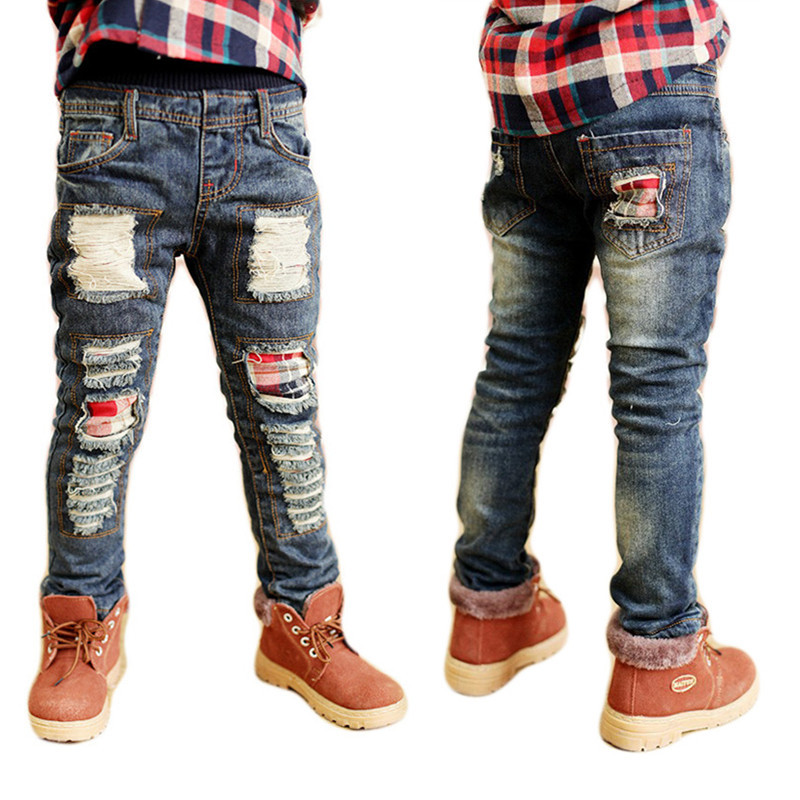 boys jeans kd 7 fashion torn kids ripped jeans 3 4 5 6 7 8. Black Bedroom Furniture Sets. Home Design Ideas