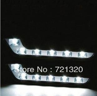 Hot-Selling Free Shipping 12LED Universal DRL LED Light ABS Daytime Running Lights Good Fitment Day Running light