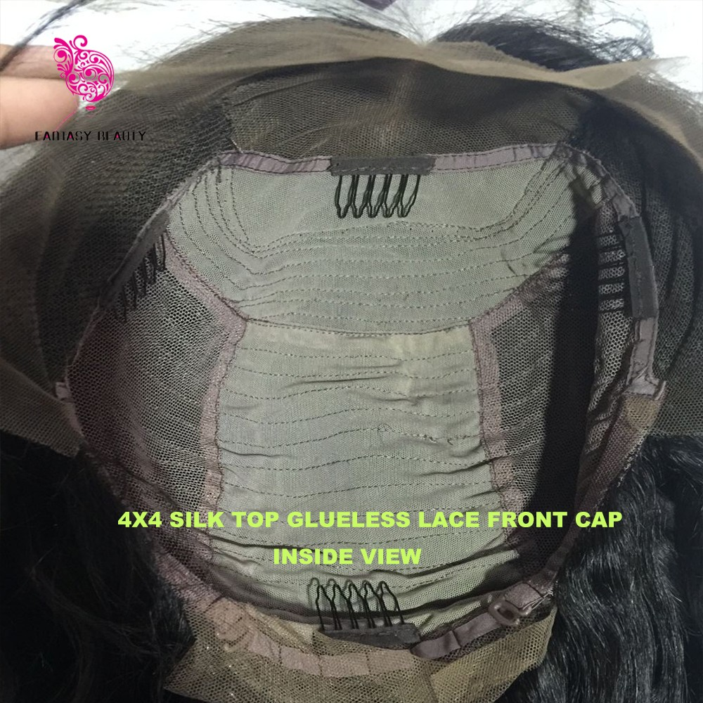 LACE FRONT SILK TOP CAP
