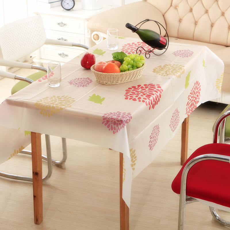 130 140cm vinyl rectangle tablecloths table cloths mats covers kitchen