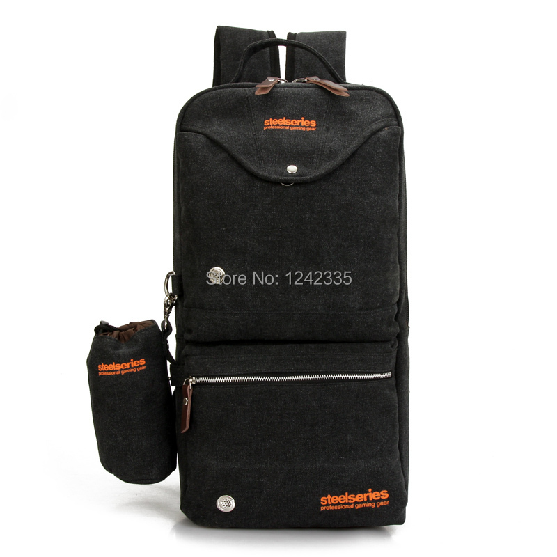 Free shipping! original steelseries backpack gaming peripherals e-sport bag keyboard laptop tablet bag travelling package(China (Mainland))