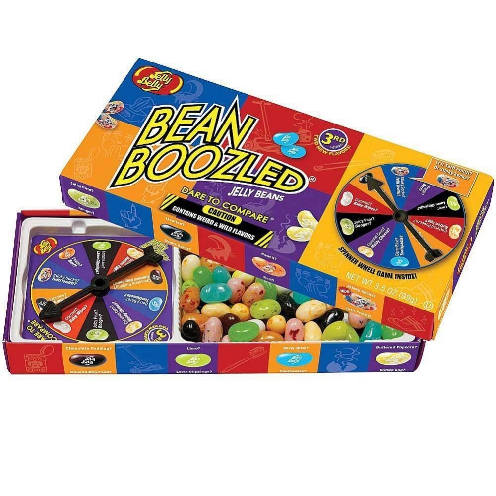 1box Big size Bean boozled.Crazy Sugar.Magic Beans.Harry Potter.beans Boozled 2016 fool's day gift(China (Mainland))