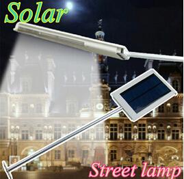 produto 4 pcs/lot Panel tenaga surya dipimpin lampu jalan lampu Pencahayaan outdoor Darurat jalur dinding tempat lampu untuk taman