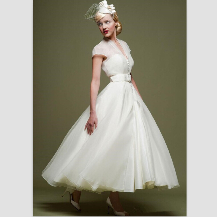 White Wedding Dresses A Line 2015 - 277.5KB