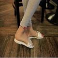 New 2016 Women Summer Style Flat Shoes Women Flat Heel Comfortable Soft Bottom Sandals Women Sweet
