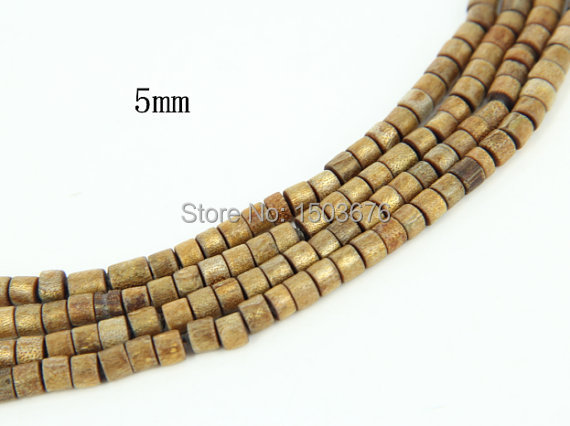 15.5 inches/strand of Natural Golden Coral Disc Heishi Beads, Bamboo Coral Gems Loose Beads Jewelry(China (Mainland))