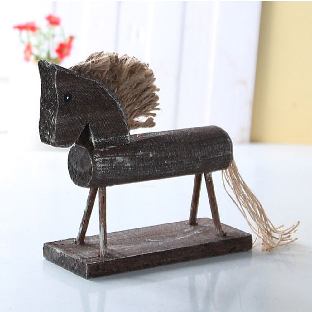 Online buy wholesale horse ornament from china horse for Wooden horseshoes for crafts