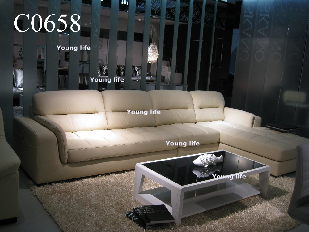 Fashion Design Genuine Leather Sofa Living Room Sofa C0658 Wholesale Only I
