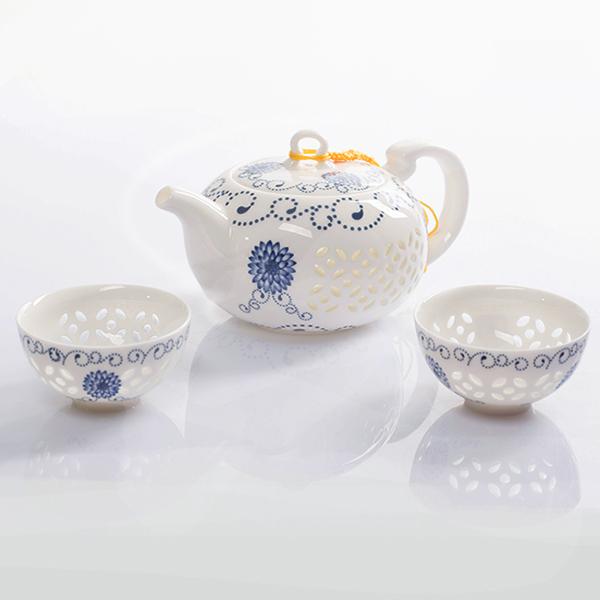 NEW SHOP Chinese Kung Fu Tea Set,Ultra-Thin Exquisite Tea Sets,Bone China TeaPot Tea Cup,3-pcs Set Coffee Tea Sets,High Quality(China (Mainland))